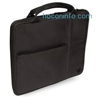 ihocon: V7 Tablet Bag with Handle Fits up to 9.7 Tablets including all iPad Air 1 / 2, iPad 1 / 2 / 3 / 4, Netbooks, Galaxy (TA20BLK-1N)
