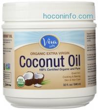 ihocon: Viva Labs Organic Extra Virgin Coconut Oil, 32 Ounce