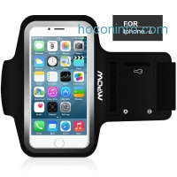 ihocon: Mpow Running Sport Sweatproof Armband Case + Key Holder for iPhone 6