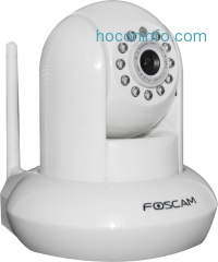 ihocon: Foscam 網路遙控雙向對話夜視攝像頭 Pan & Tilt IP/Network Camera with Two-Way Audio and Night Vision FI8910W