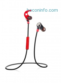 ihocon: Coredy BlackMamba 2 Sweat-proof Wireless Bluetooth Sports Headphones -  Built-in Microphone and Voice Commands