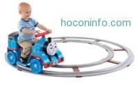 ihocon: Fisher-Price 湯姆仕載人軌道火車 Power Wheels Thomas & Friends Thomas with Track