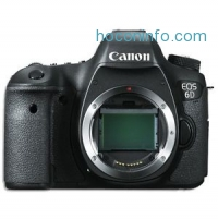 ihocon: Canon EOS 6D 20.2 MP CMOS Digital SLR Camera Body