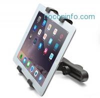 ihocon: Aduro U-Grip Adjustable Universal Car Headrest Mount for Tablets, Apple iPad, Galaxy Tablet