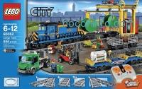 ihocon: LEGO City 樂高城市: Trains Cargo Train 60052 Building Toy