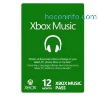 ihocon: Microsoft 12-Month Xbox Music Pass
