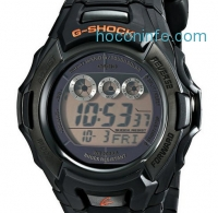 ihocon: Casio Men's G-Shock 電子表 Stainless Steel Watch with Black Resin Band GW-M500F-1CR