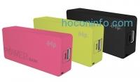 ihocon: iHip Rubberized 2400mAh Portable Smartphone Charger