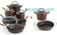 ihocon: Circulon Symmetry Chocolate 11 Piece Cookware Set + 3-pc bonus sets (自動出現在購物車)