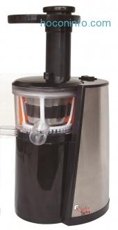 ihocon: Chef's Star Slow Masticating Juicer Black & Stainless Steel