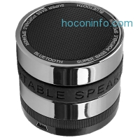 ihocon: LotFancy Sliver Super Bass Hi-Fi Bluetooth Speaker