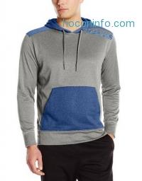ihocon: adidas Performance Men's Ultimate Linear Logo Fleece Pullover Hoodie