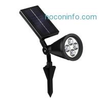 ihocon: OxyLED E03 Bright Solar Light (Black)