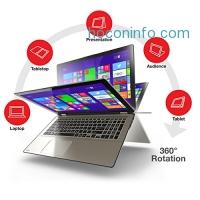ihocon: TOSHIBA 360° Rotation Ultrabook P55W-B5318 (i7-4510U 12GB 256GB SSD 1080p Touchscreen) - Refurbished