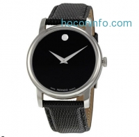 ihocon: Movado 摩凡陀皮帶男表 Museum Leather Mens Watch