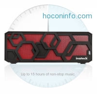 ihocon: Inateck 便攜藍牙無線揚聲器 Portable Hi-Fi Wireless Bluetooth 4.0 Speaker