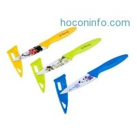ihocon: Peakeep® 3-PCS Stainless-Steel Knife Set