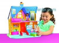 ihocon: Doc McStuffins Clinic Doll House with Doll