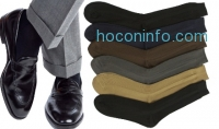 ihocon: 12-Pack of Men's Solid-Color Dress Socks