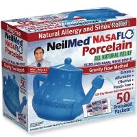ihocon: NeilMed Nasaflo Porcelain Neti Pot, 8 Ounce