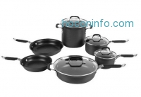 ihocon: Calphalon Kitchen Essentials Hard Anodized Nonstick 10 piece Cookware Set
