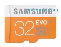 ihocon: Samsung 32GB EVO Class 10 Micro SDHC up to 48MB/s with Adapter (MB-MP32DA/AM)
