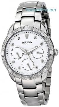 ihocon: Bulova Women's 96R195 Multi-Function Dial Stainless Steel Watch