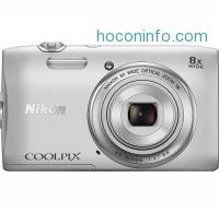 ihocon: Nikon Coolpix S3600 20MP Digital Camera - Manufacturer refurbished