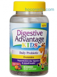 ihocon: Digestive Advantage Probiotics - Daily Probiotic Gummies for Kids, 60 Count