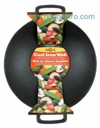 ihocon: Mr. Bar-B-Q 06106X Cast-Iron Wok