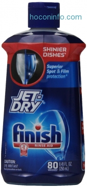 ihocon: Finish Jet Dry Dishwasher Rinse Aid, 8.45 Ounce (Pack of 4)