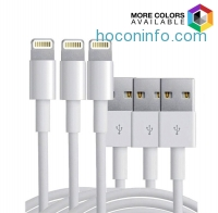 ihocon: 3-Pack: 10ft 8 Pin Cable for Apple iPhone 5/6/6+