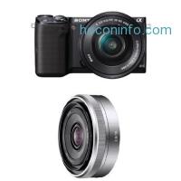 ihocon: Sony NEX-5TL Digital Camera w/ 16-50mm &16mm F2.8 Lens