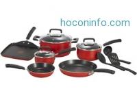 ihocon: T-fal Signature Nonstick Thermo-Spot 12 pc. Cookware Set