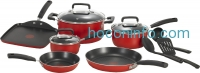 ihocon: T-fal C112SC Signature Nonstick Expert Thermo-Spot Heat Indicator Cookware Set, 12-Piece