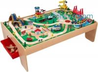 ihocon: KidKraft Waterfall Mountain Train Set and Table