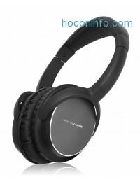 ihocon: RevJams Studio Vibe Bluetooth Headphones with High Fidelity Sound - Over the Ear Design - Noise Isolating - 20 Hour Battery