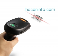 ihocon: Coocheer® 2.4G Wireless Cordless Handheld Barcode Bar Code Scanner Reader Kit
