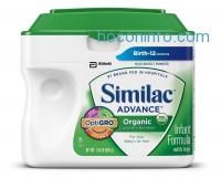 ihocon: Similac Advance Organic Infant Formula with Iron, Powder, 23.2 Ounces (Pack of 6)