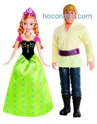 ihocon: Disney Frozen Anna and Kristoff Doll, 2-Pack
