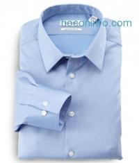 ihocon: Calvin Klein Men's Non-Iron Slim-Fit Striped Button-Front Shirt