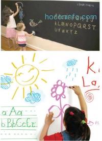 ihocon: 6-Foot Chalkboard or Whiteboard Wall Decal
