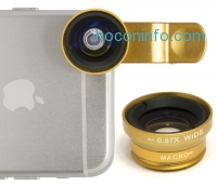 ihocon: Bastex 3-in-1 fish eye, micro and wide-angle camera kit