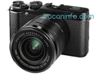 ihocon: Fujifilm X-M1 Compact System 16MP Digital Camera Kit with 16-50mm Lens Black