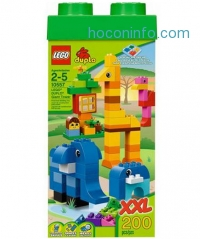 ihocon: LEGO DUPLO Giant Tower 200 pieces with storage box
