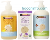 ihocon: Wellements New Born Essentials Shampoo, Lotion and Gripe Water, 3 Count