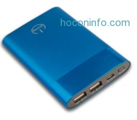 ihocon: Zoom Z-6000 Power Bank - 6000 mAh External Cell Phone Battery Pack