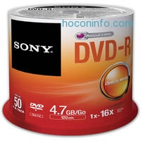 ihocon: Sony Recordable Storage DVD-R (Pack of 50)