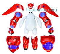 ihocon: Big Hero 6 Armor-Up Baymax Action Figure