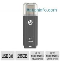 ihocon: HP 256GB USB 3.0 高速隨身碟/U盤 Flash Drive x702w